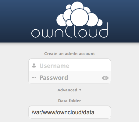 Screenshot ownCloud