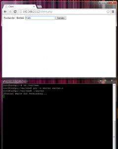 Screenshot SSH