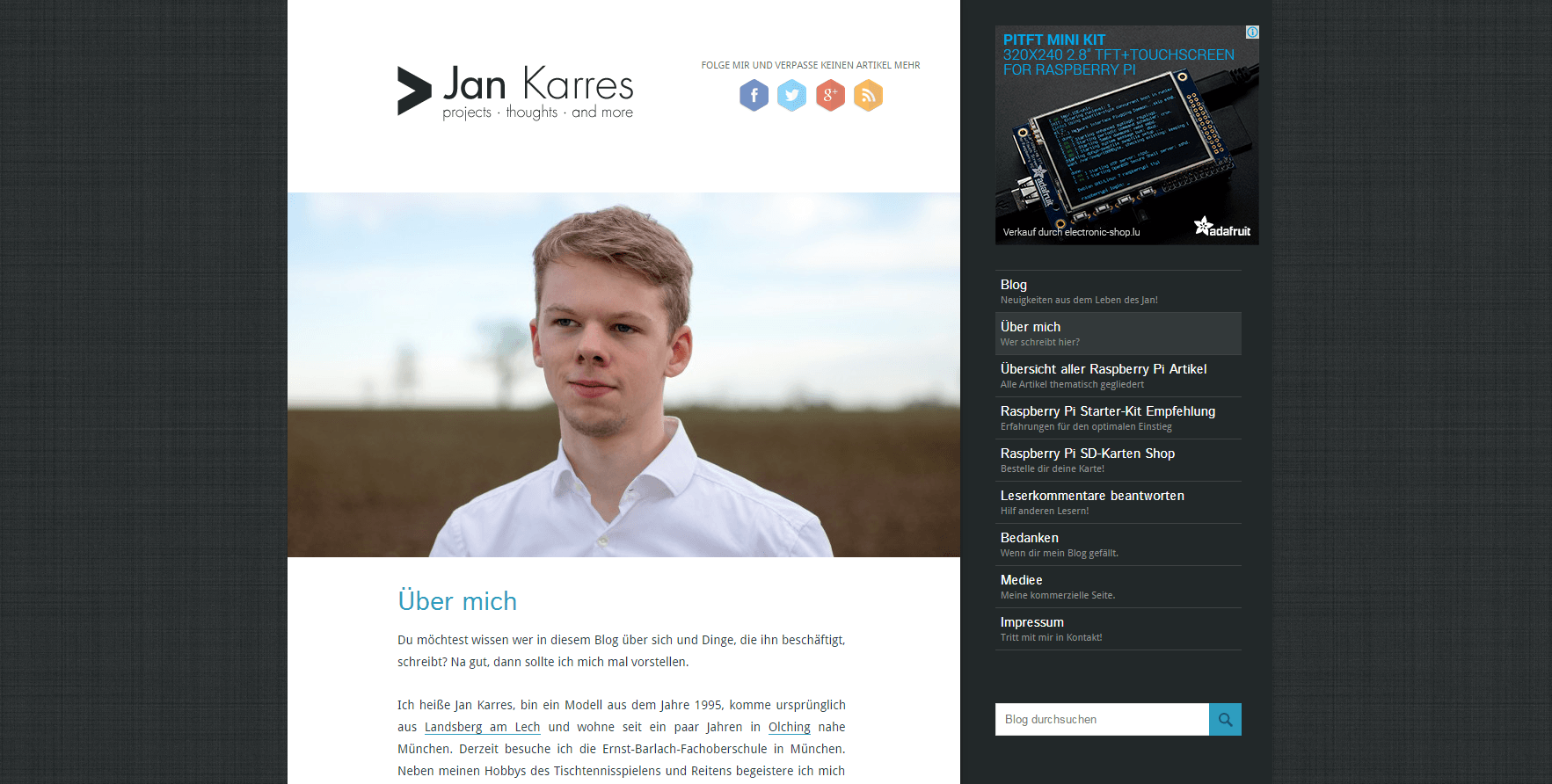Interview mit Raspberry Pi Blogger Jan Karres
