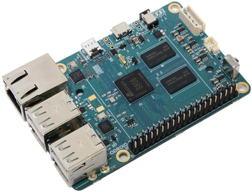 Odroid C1: Board mit QuadCore-Prozessor zum Raspberry Pi Preis