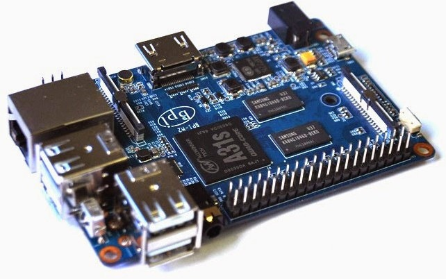 Banana Pi M2: Quad Core Board mit WiFi