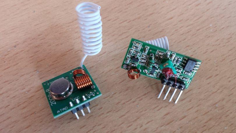 Raspberry Pi: 433 MHz Funksteckdose schalten