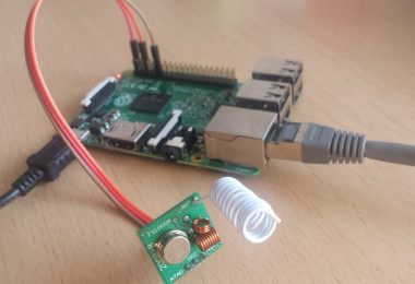 Raspberry Pi 2 mit 443 MHz Sender