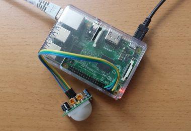 Raspberry Pi: PIR Bewegungsmelder ansteuern
