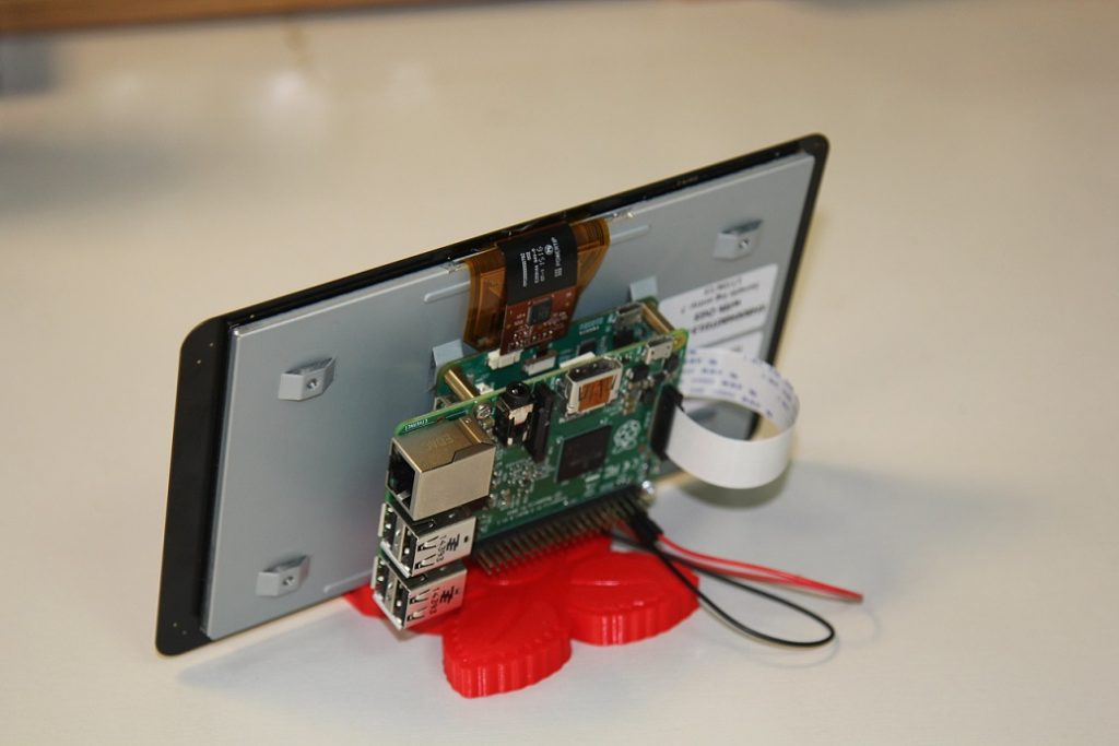 Raspberry Pi 7 Zoll Touchscreen Display