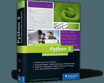 Python 3: Das umfassende Handbuch
