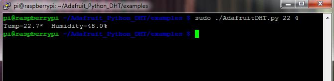 DHT22 Adafruit Example