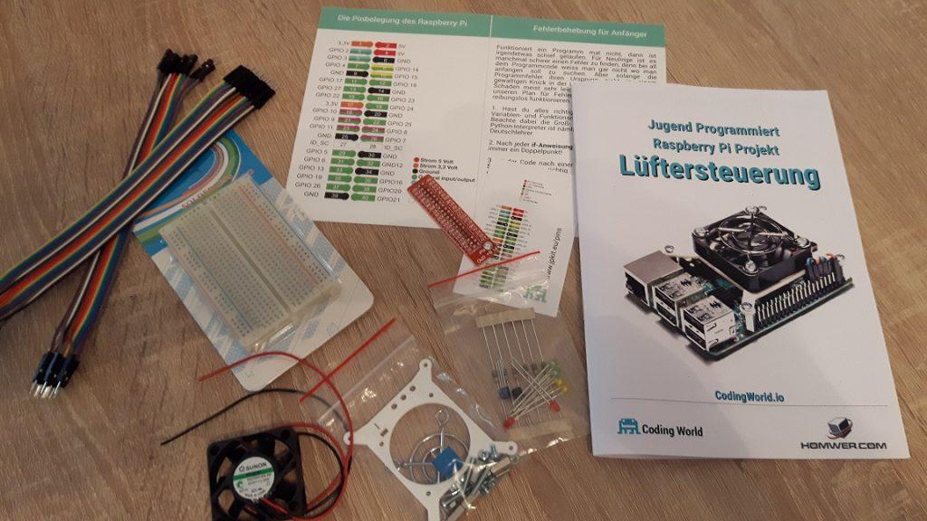 Jugend programmiert: Lüftersteuerung Kit