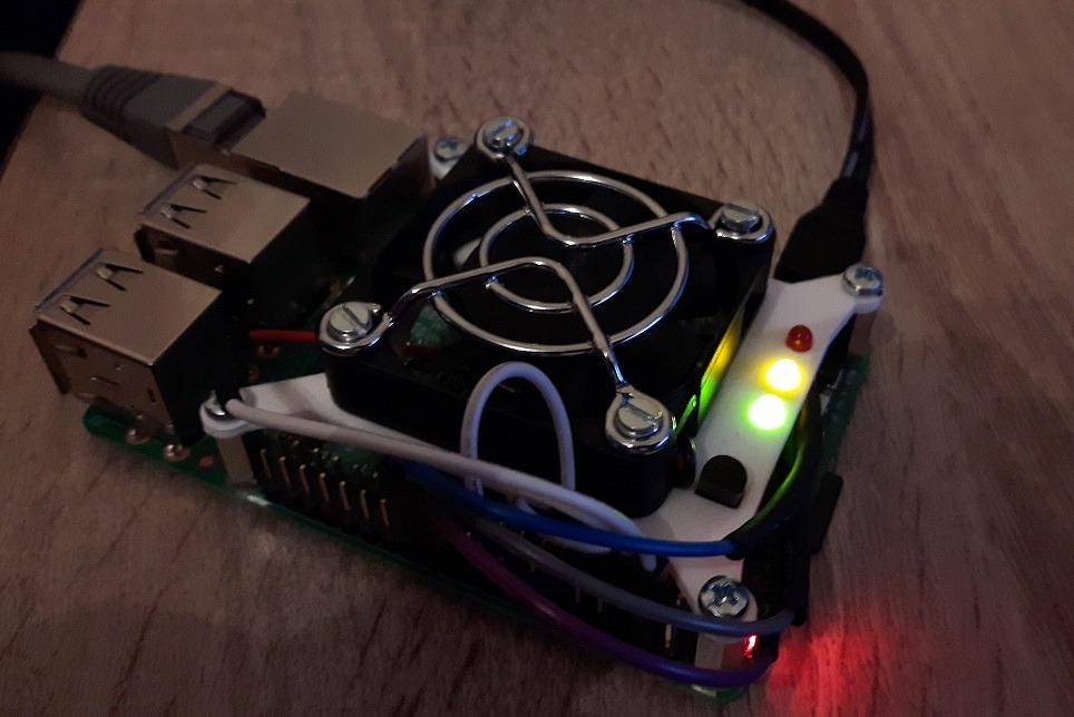 Raspberry Pi Lüfter