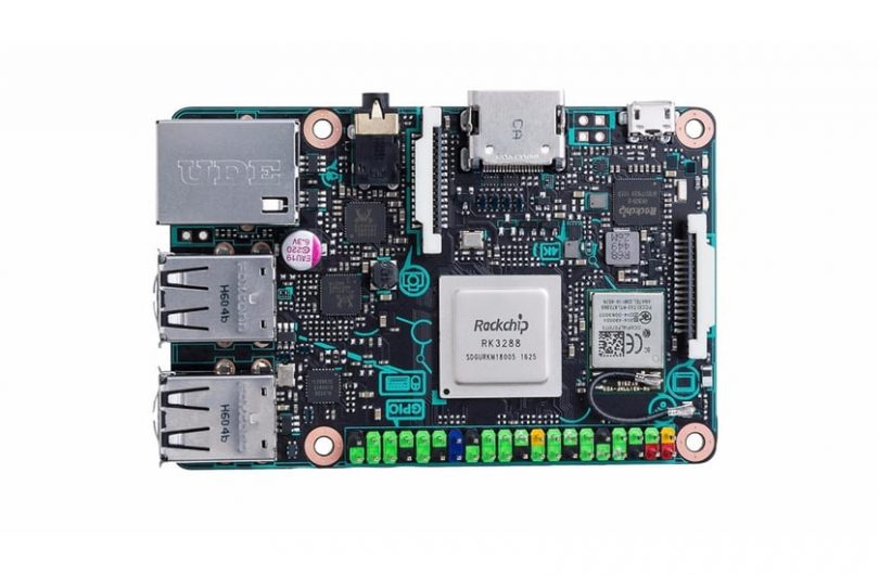 Asus Tinker Board: 4K-Video-Support, Gigabit-Ethernet und 2 GB RAM