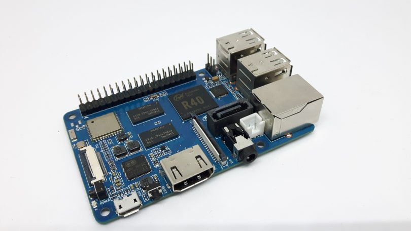 Banana Pi M2 Berry: Gigabit-Ethernet, SATA und Raspberry Pi kompatibel