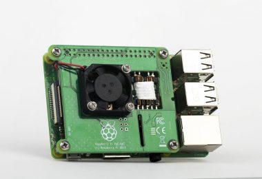 Raspberry Pi 3B+ PoE HAT (Bild: Raspberry Pi Foundation)