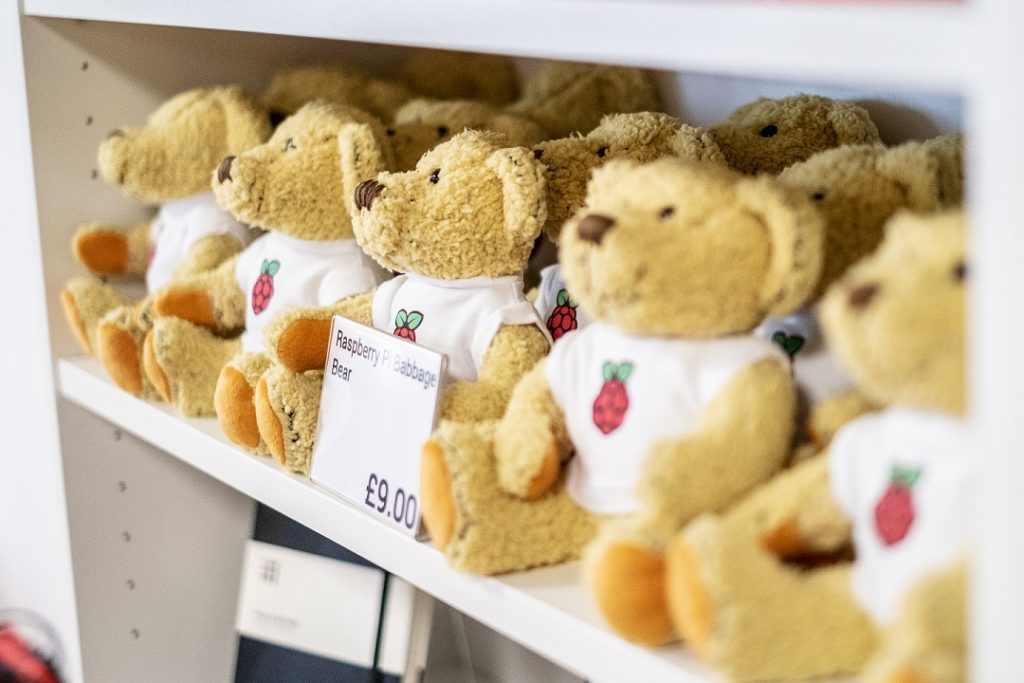 Raspberry Pi Teddy (Bild: Raspberry Pi Foundation)