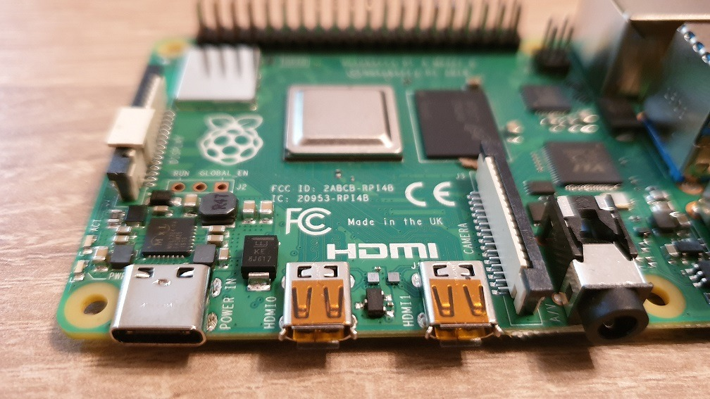 Raspberry Pi 4: USB-C und Micro-HDMI