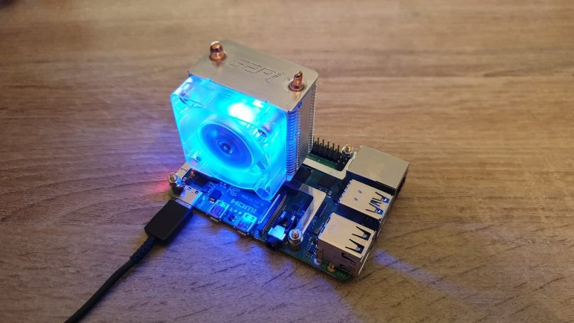 Raspberry Pi ICE Tower CPU Lüfter