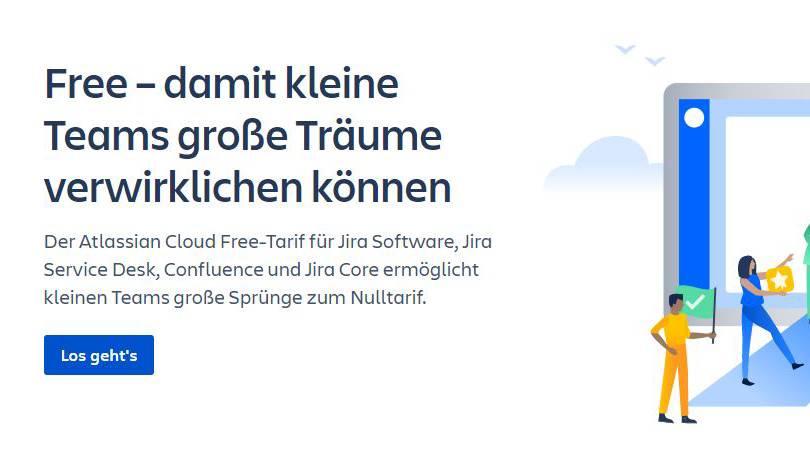Atlassian Cloud Produkte kostenlos