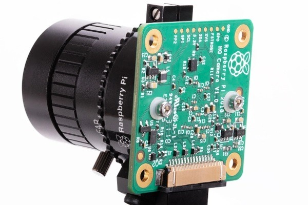 Raspberry Pi High Quality Camera Rückseite (Bild: raspberrypi.org)