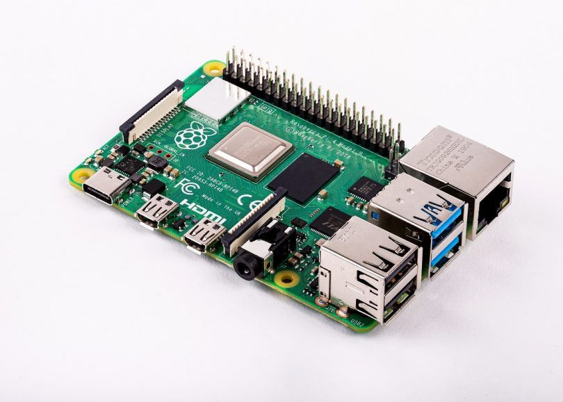 Raspberry Pi 4 (Bild: Raspberry Pi Foundation)