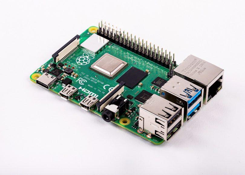 Raspberry Pi 4 (Bild: Raspberry Pi Foundation)