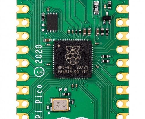 Raspberry Pi Pico / RP2040 (Bild: raspberrypi.org)
